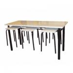 Комплект мебели для школьной столовой, 4-х местный
