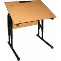 Стол ученический 1-местный с изменяемым наклоном столешницы